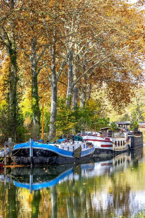 Canal du midi Capestang